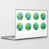 oakland Laptop & iPad Skins featuring St. Patrick's Love by KatieKatherine
