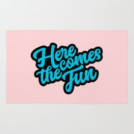 Here Comes the Fun Rug