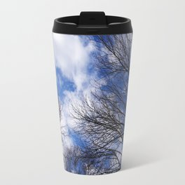 Reaching for the clouds Travel Mug