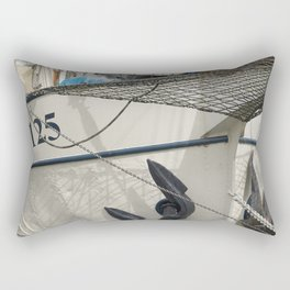 In the harbour of Rotterdam Rectangular Pillow