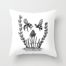 Beeloved Throw Pillow