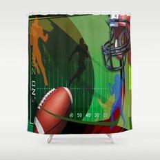 Football Shower Curtain