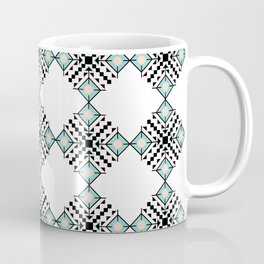 Vintage Bohemian Aztec Inspired Pattern Coffee Mug