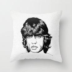 M. J. 02 Throw Pillow