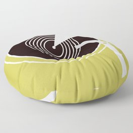 Vintage Record Player Floor Pillow