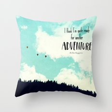 Another Adventure Throw Pillow
