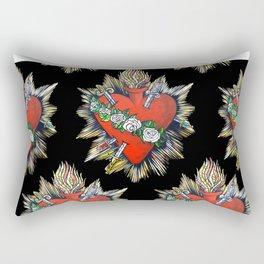 Sacred Heart Sagrado Corazon Rectangular Pillow