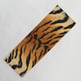 Faux Siberian Tiger Skin Design Yoga Mat