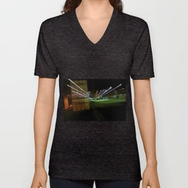 Night Train Unisex V-Neck