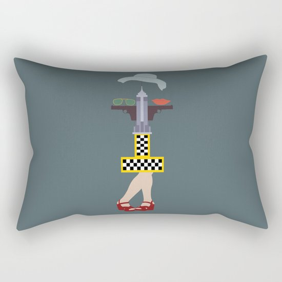 Taxi driver Rectangular Pillow