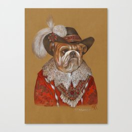 Lord Bulldog Canvas Print