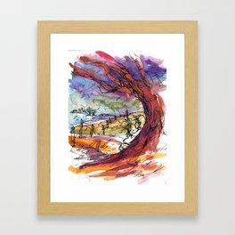Holding True Framed Art Print