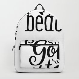 Tote Bag Design Gone to the Beach Beach Bag Backpack