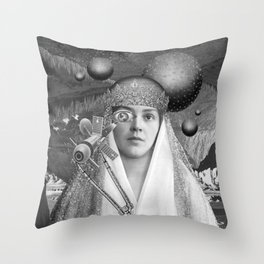 SOMEPLACE IN-BETWEEN Throw Pillow