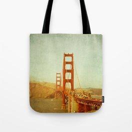 Golden Gate Bridge / San Francisco, California Tote Bag