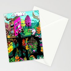 Color in the City Stationery Cards