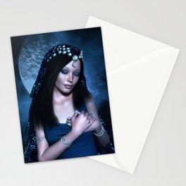 Praying Moon Goddess Stationery Cards