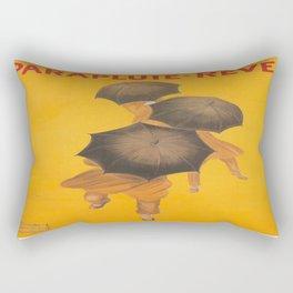 Vintage poster - Parapluie-Revel Rectangular Pillow