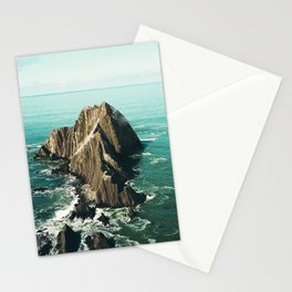 Island green sea Stationery Cards