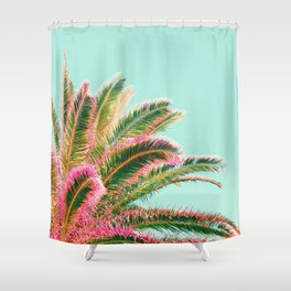 Fiesta palms Shower Curtain