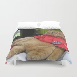 Bend it like... Duvet Cover