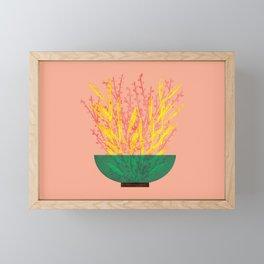 Flower Pot III Framed Mini Art Print