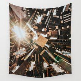 Darmstadt Sonne Wall Tapestry