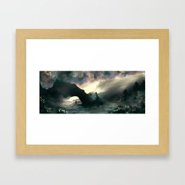 Morning Arch Framed Art Print
