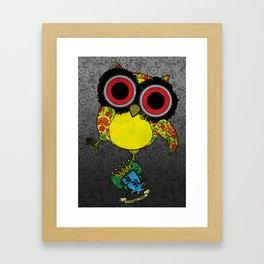 Printed Owl Framed Art Print