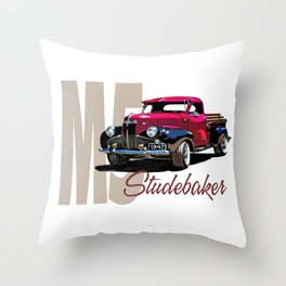 1947 M5 Studebaker pickup Throw Pillow