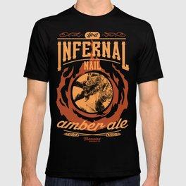 Infernal Nail Amber Ale | FFXIV T-shirt