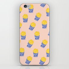 Floral Fries iPhone & iPod Skin
