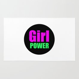 Girl POWER Rug