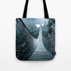 Suspended Adventure Tote Bag