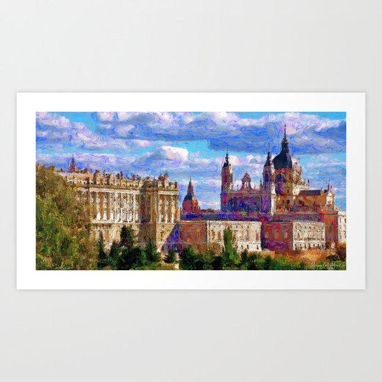 Royal Palace Art Print