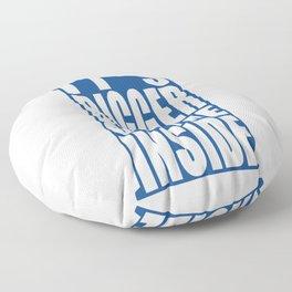 Bigger on the Inside Floor Pillow