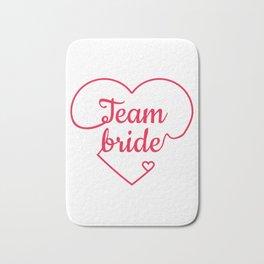 Team Bride - Bachelorette Hen Bridal Party Alcohol Bath Mat