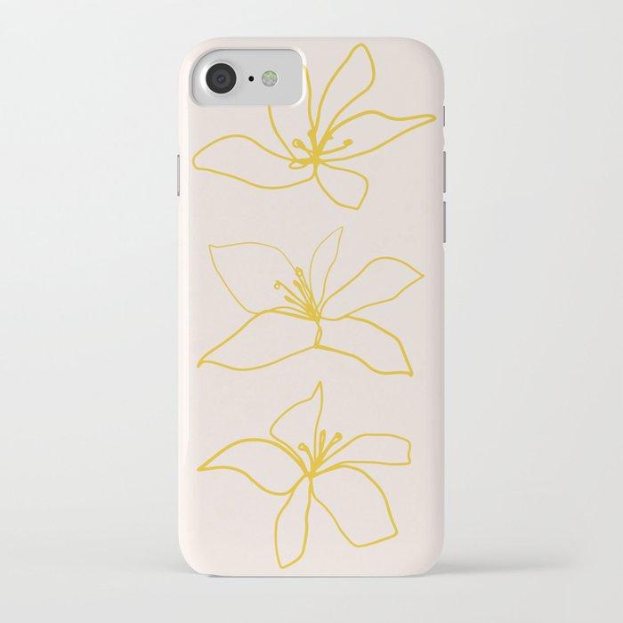 Flower Trio iPhone Case