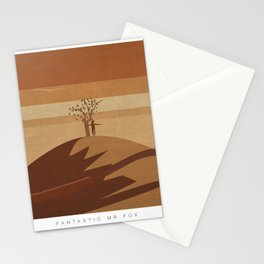 Minimalist Fantastic Mr.Fox Stationery Cards