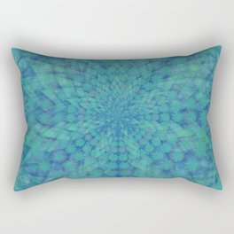 Lotus of Divinity Rectangular Pillow