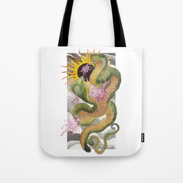 Double headed snake. Tote Bag