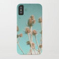 Distant iPhone X Slim Case