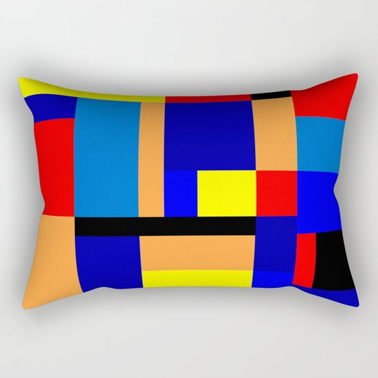 Mondrian #2 Rectangular Pillow