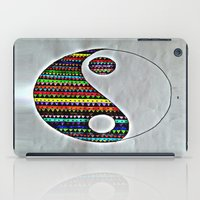 ying yang iPad Cases featuring Ying Yang by ArtSchool