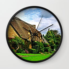 Picturesque Chipping Campden Wall Clock