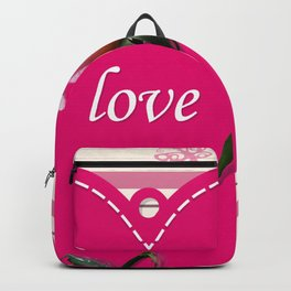rose with love Backpack