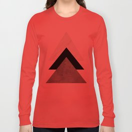 Arrows Monochrome Collage Long Sleeve T-shirt