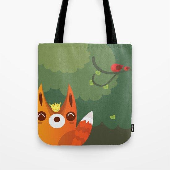 Kingfox Tote Bag
