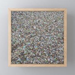 glass beach Framed Mini Art Print