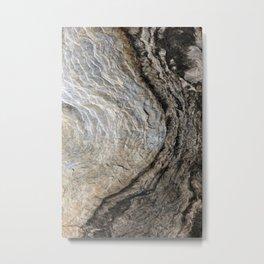 Nature's Stone Pattern I (Norway) Metal Print